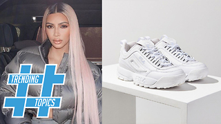 Kendall Jenner and Gigi Hadid Rock Dad Sneakers! | Trending Topics