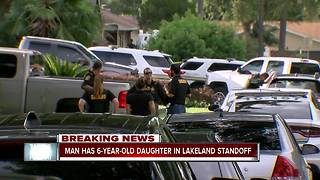 Child held hostage in Lakeland - Video
