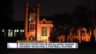 Protest expected after alleged hazing incident in Dearborn involving two football players - Video