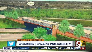 Liberty Township is hatching an ambitious plan to get consumers walking - Video