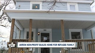 Akron non-profit builds home for refugee family