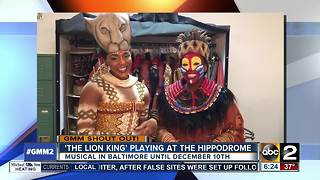 Good morning from the cast of The Lion King - Video