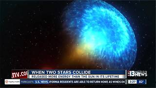 When neutron stars collide: NASA animation shows energy release - Video