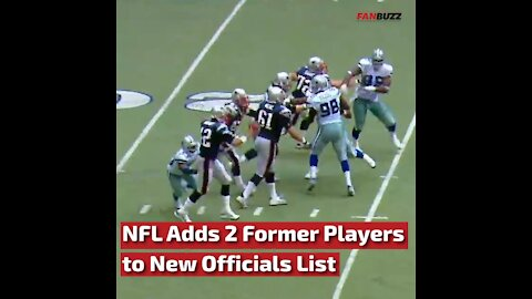 NFL Adds 2 Former Players to New Officials List This Season