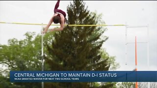 Central Michigan gets NCAA waiver for DI sports minimum