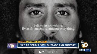 Nike ad sparks both outrage and support - Video