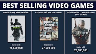 50 Best Selling Games by Copies Sold!