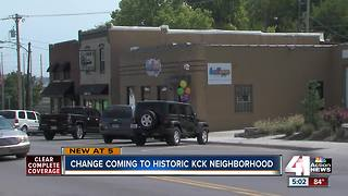 Changing coming to historic KC neighborhood - Video
