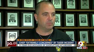 Cincinnati officer stunned 11-year-old girl with Taser - Video