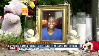 Tampa police say 3 killings are linked - Video