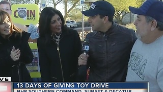 Las Vegas shows its giving spirit at our toy drive to benefit the Las Vegas Rescue Mission - Video