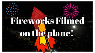 Southwest plane lands to 4th of July fanfare!!  - Video