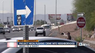 Neighbors blame Project Neon for increased crime in neighborhood - Video