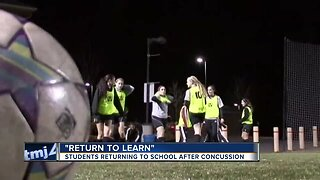 Return to learn: Students returning to school after concussions