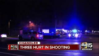 FD: 3 people hospitalized after Chandler shooting - Video
