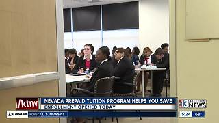 Nevada prepaid tuition program helps you save - Video