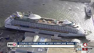 SWFL couple returns home after being stranded in Puerto Rico