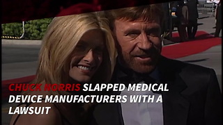 Chuck Norris Takes A Break From Acting - Video