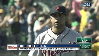 Former Detroit Tiger Francisco Rodriguez sued for trashing rental home - Video