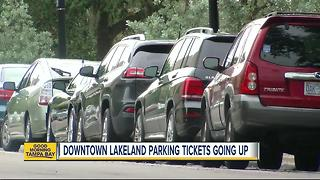 Parking fines going up in Downtown Lakeland