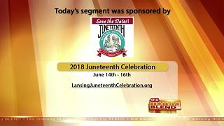 Lansing Juneteenth Celebration - 6/5/18 - Video