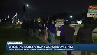 Westland nursing home workers on strike