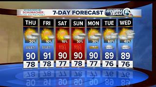 South Florida Thursday morning forecast (6/22/17) - Video