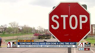 Neighbors near dangerous intersection frustrated after another serious car crash