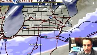 Winter Storm Friday - Video