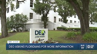 DEO asking Floridians for more information