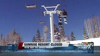 Sunrise Ski Park Resort in Greer 'closed until further notice' - Video