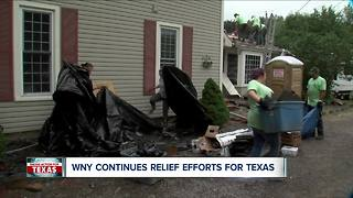 WNY Responds to Texas Disaster - Video