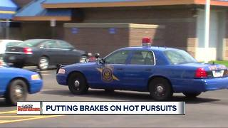 Controversial Michigan State Police pursuits are getting evaluated - Video