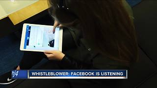 Whistleblower: Facebook is listening - Video