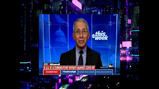 Fauci Pushes Masks For Extended Period, CNN Says CDC Maybe Giving More Freedom To Vaccinated People