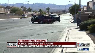 9-year-old boy killed by crash | Breaking News - Video