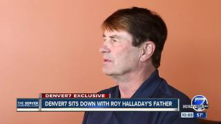 Roy Halladay's Father opens up about his son, baseball and flying - Video
