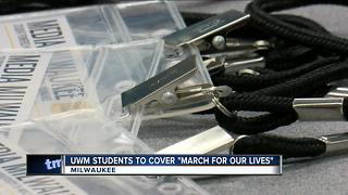 UWM students to cover March For Our Lives in DC - Video