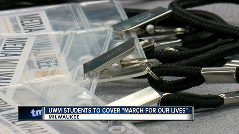 UWM students to cover March For Our Lives in DC
