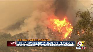 Tri-State man fights California wildfires - Video