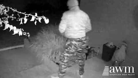 Man Steals Package Off Her Porch, Sees His Pants; Knows Who It Is Right Away