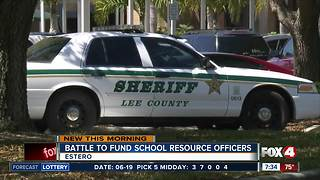 Battle to fund school resource officers in parts of Lee County - Video