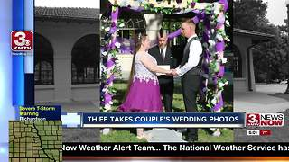 Woman seeks help locating stolen wedding photos - Video