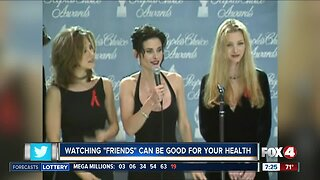 Watching 'Friends' can be good for your health