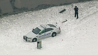 Sterling Heights police officer injured in crash - Video