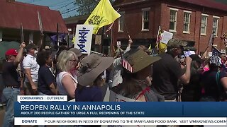 Reopen Maryland rally held in Annapolis