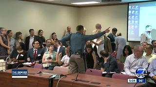 Protesters booted from Colorado oil and gas meeting amid industry tension - Video