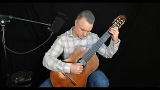 How to hold the classical guitar