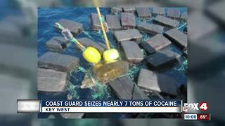 Coast Guard Seizes Nearly 7 Tons of Cocaine