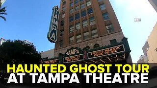 Haunted Ghost Tour at Tampa Theatre | Taste and See Tampa Bay